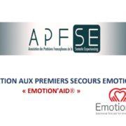 FORMATION AUX PREMIERS SECOURS EMOTIONNELS « EMOTION'AID® »