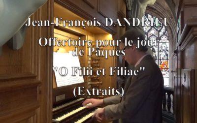 Arnaud Van de Cauter – O filii et Filiae – Jean François DANDRIEU