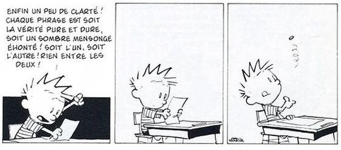 Calvin et Hobbes Fakenews